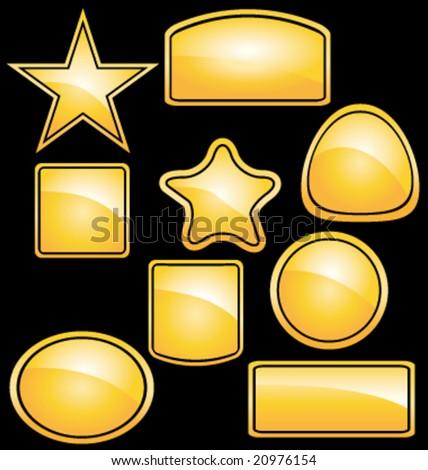 Yellow stickers