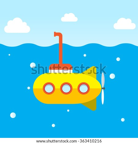 yellow submarine explore under