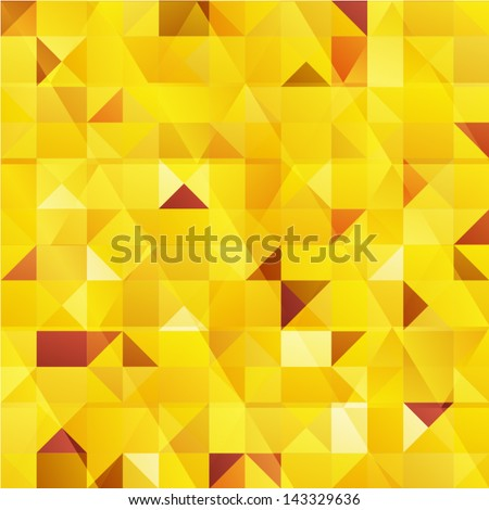 yellow vector abstract