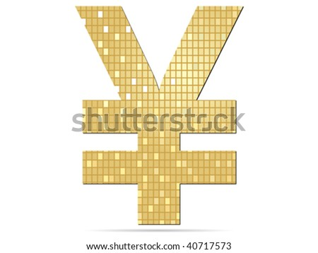 yen icon vector illustration