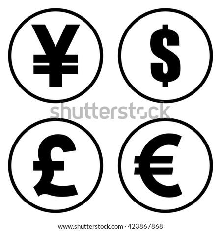 Money Icons Illustration Ez Canvas