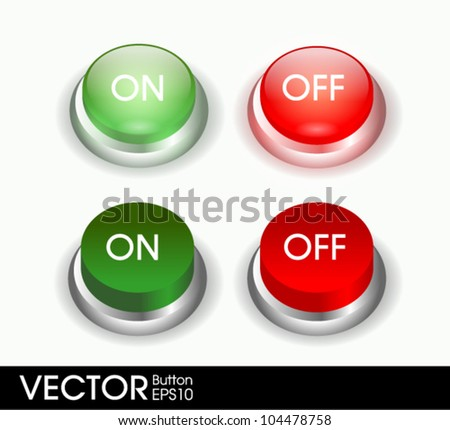 yes no button set