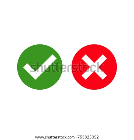 Yes or no vector sign