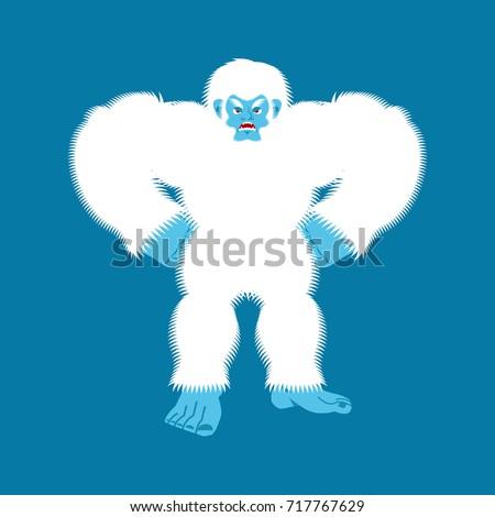 yeti angry bigfoot evil