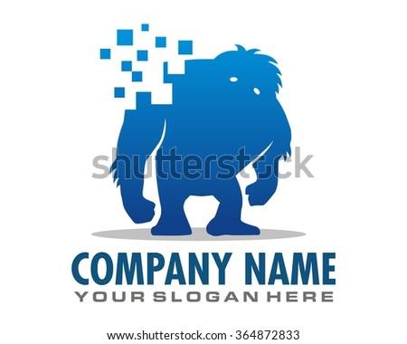 yeti blue pixel logo