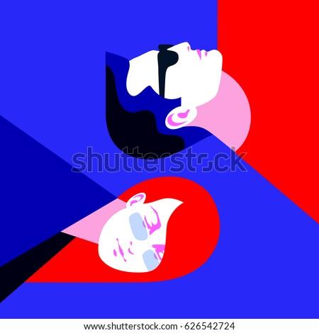yin and yang concept yong man