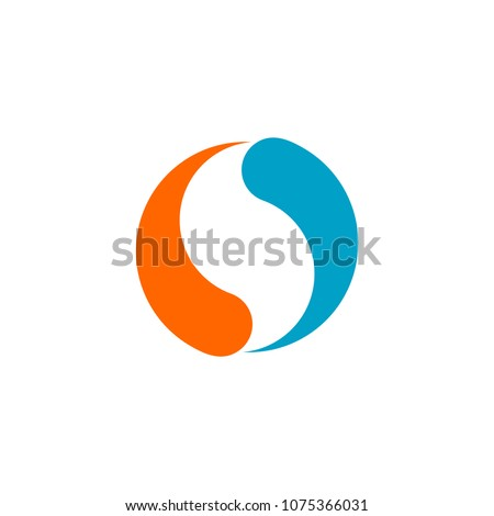 yin and yang logo vector