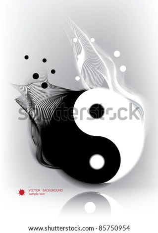 Yin yan symbol