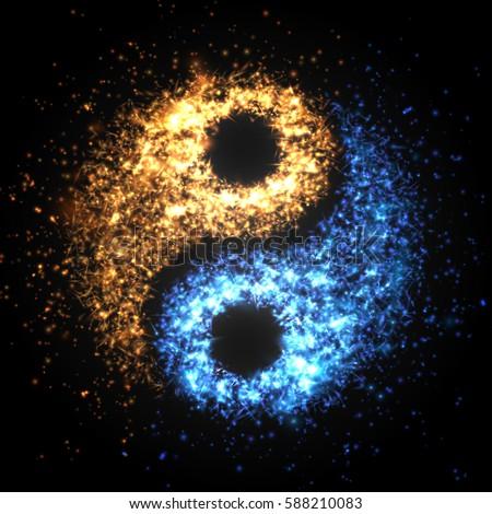 yin yang abstract wallpaper