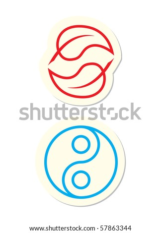 Yin Yang Icons