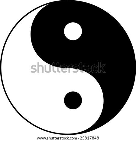 Yin Yang Symbol Freevectors
