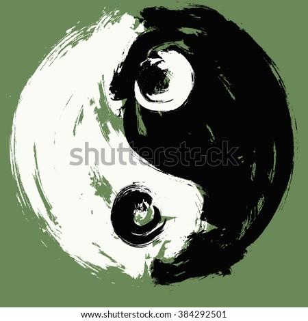 ying yang symbol of ying yang