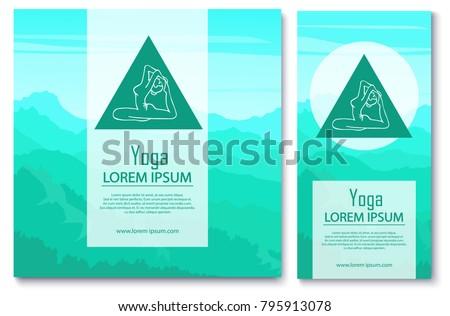 yoga branding design relax and