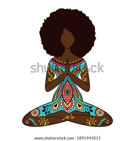 yoga girl african american