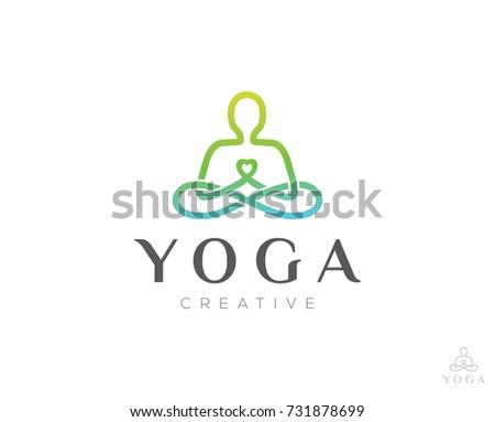 Yoga Logo Kostenlose Vektor Kunst Archiv Grafiken Bilder