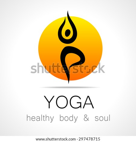 yoga logo   design template