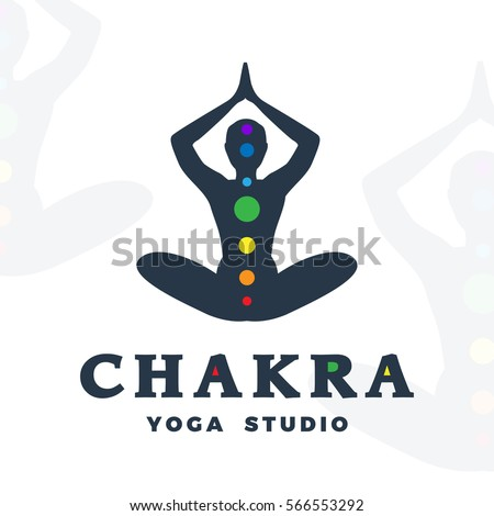 meditation logo design vector  123freevectors