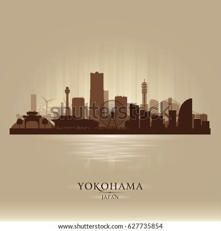 yokohama japan city skyline
