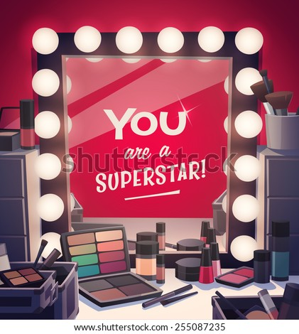 you are a superstar  vector