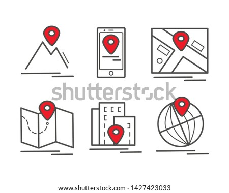 Marker Location You Are Here Vector - Download Free Vectors