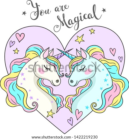 you are magical lettering two