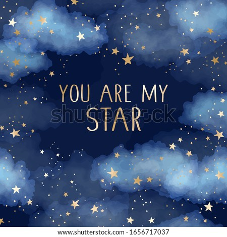 you are my star vector dark