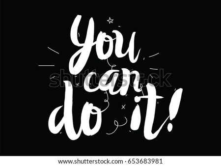 Vector Poster We Can Do It Download Free Vector Art Stock