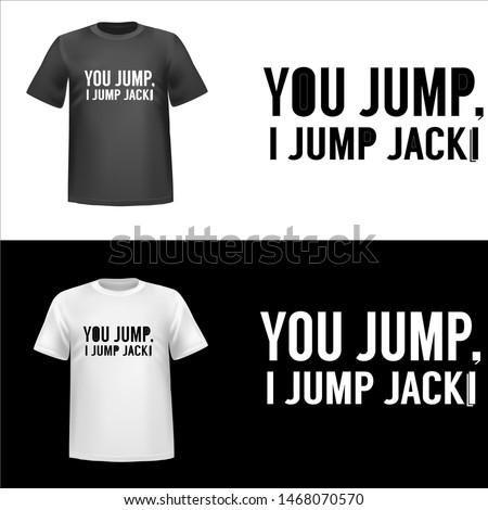 you jump  illustration you jump