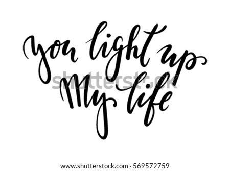 you light up my life hand drawn