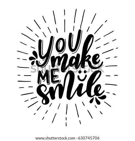 you make me smileinspirational