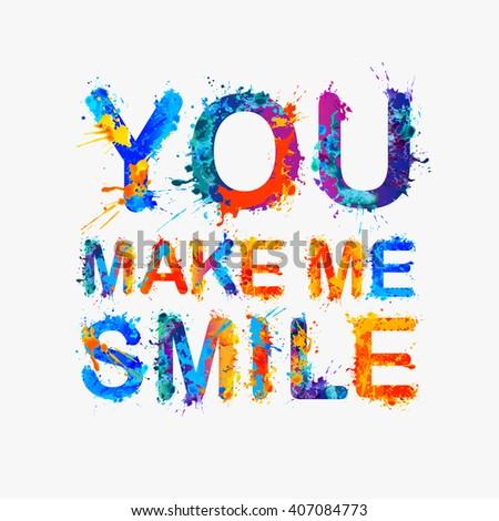 you make me smile motivation