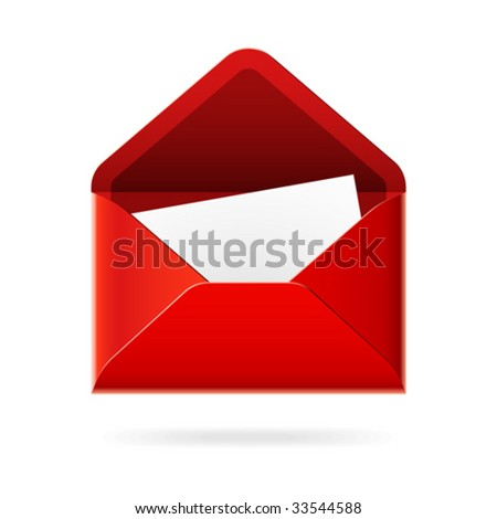 You've got mail. Vector icon.