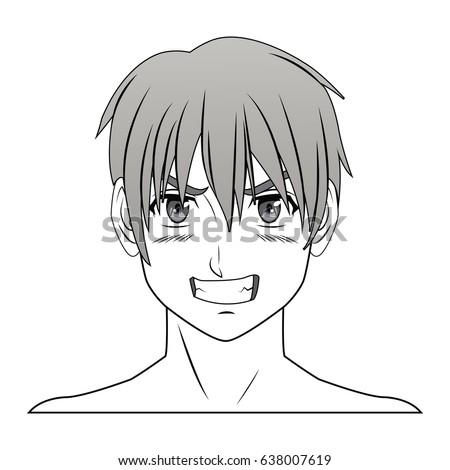 young guy anime boy character