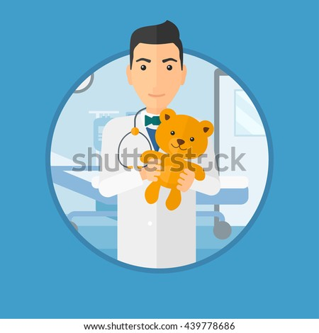 young male pediatrician doctor