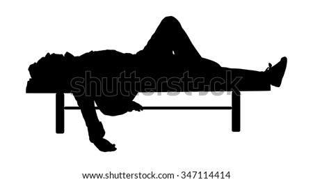 young man deeply sleeping or