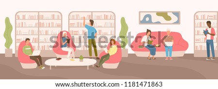 young people sitting on comfy
