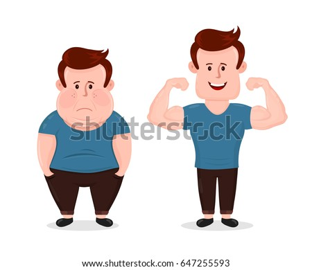 young sad fat obesity and sport