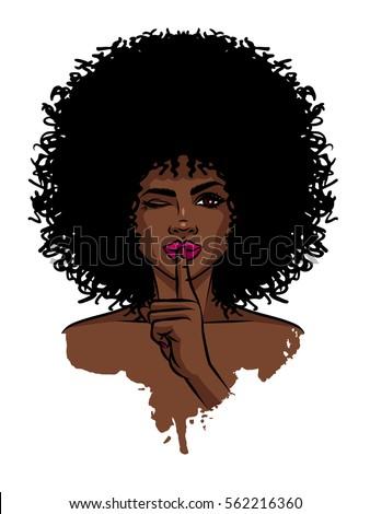 young sexy dark skinned women