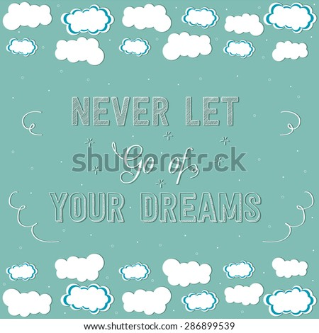 your dreamsmotivation poster