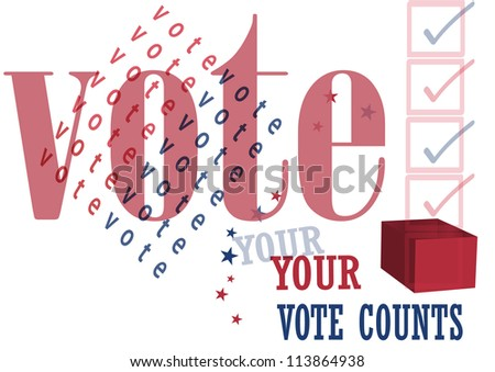 your vote counts,election