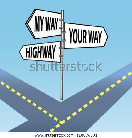 your way  my way  highway