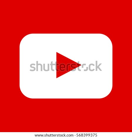 youtube icon vector eps10 play
