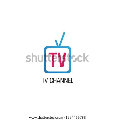 Youtube, Instagram, TV Channel Logo Design Template