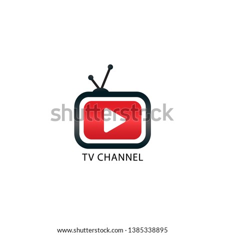 Youtube, Instagram TV Channel Logo Design Template
