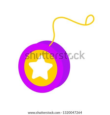 yoyo emoji vector