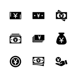 yuan icon or logo isolated sign symbol vector illustration - Collection of high quality black style vector icons