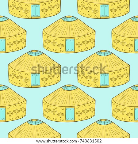 yurt background  wallpaper
