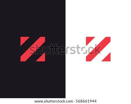 z letter logo concept creative