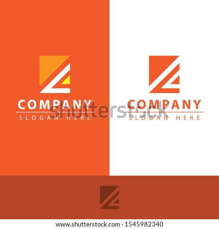z letter logo with the shape of the letter z contained pieces having their own uniqueness and different colors, making this design modern, unique, elegant, simple.