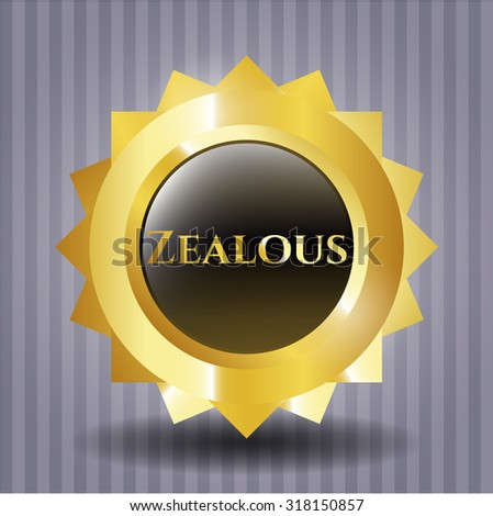 Zealous gold badge